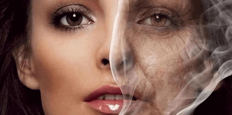 Причины преждевременного старения кожи - курение