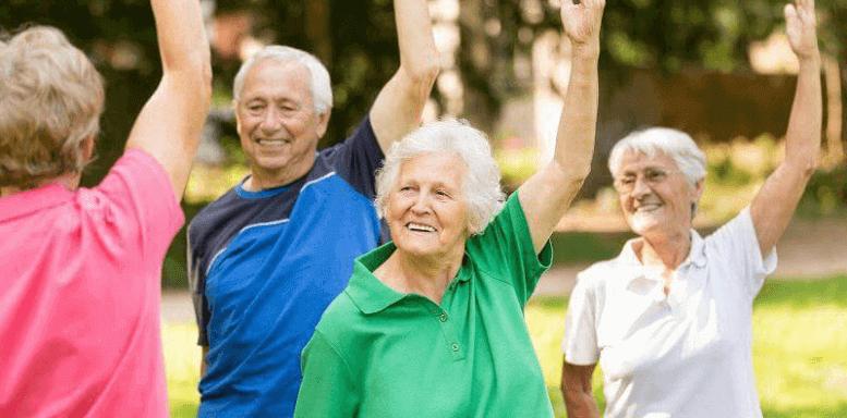 спорт на воздухе для активного долголетия