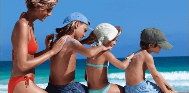 Профилактика фотостарения - солнцезащитный набор для детей