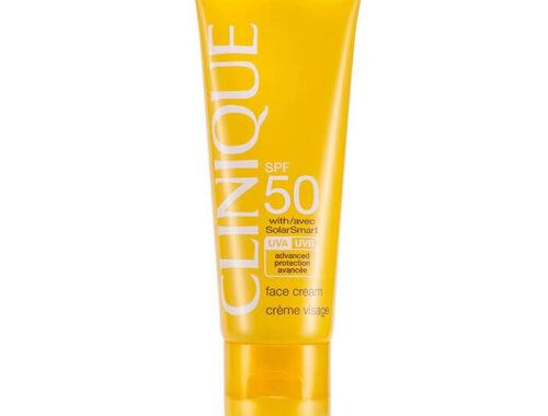 Clinique солнцезащитный крем для лица и тела