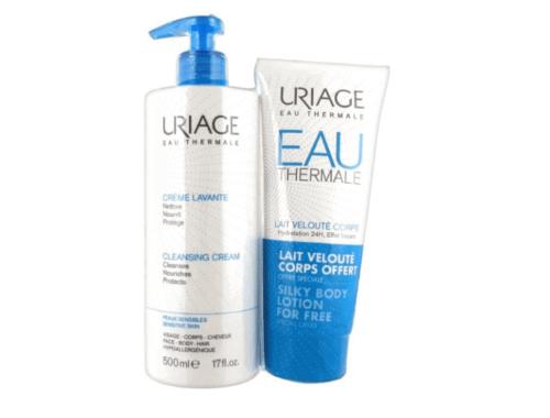 Косметика Uriage очищающие средства для лица
