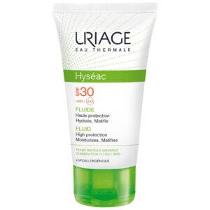 Uriage Hyseac oily skin Солнцезащитная эмульсия SPF30