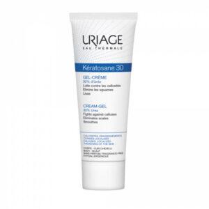 Уход за кожей ног Гель-крем против мозолистых образований и утолщений кожи Uriage, Keratosane 30