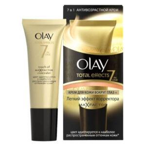 Olay Total Effects тональный крем для кожи вокруг глаз с легким эффектом корректора Max Factor