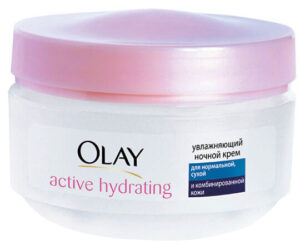 Увлажняющий ночной крем Active Hydrating