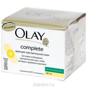 Olay Complete Крем тройного действия для чувствительной кожи