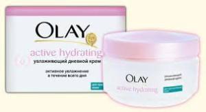 Косметика Olay - линия Active Hydrating