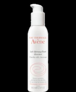 Косметика Avene- очищение кожи.