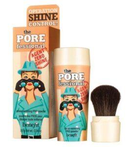 Benefit пудра для защиты кожи от блеска