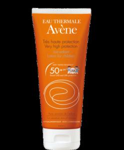 Косметика Avene - солнцезащитные средства