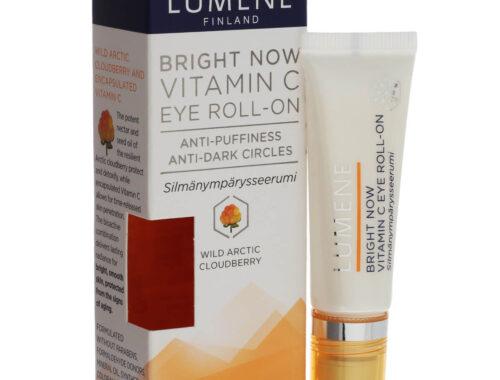 Lumene вокруг глаз BRIGHT NOW VITAMIN C, сыворотка для кожи вокруг глаз, крем для кожи вокруг глаз