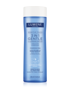 Косметика Lumene - очищающие средства