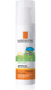 Косметика La roche-Posay - защита детской кожи от солнца.