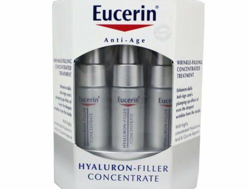 Eucerin Hyaluron-Filler anti-age, 3 филлера от морщин, концентрат от морщин