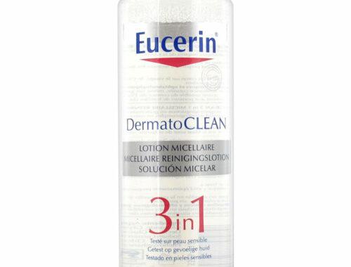 Eucerin - история марки, средства для снятия макияжа, мицеллярная вода