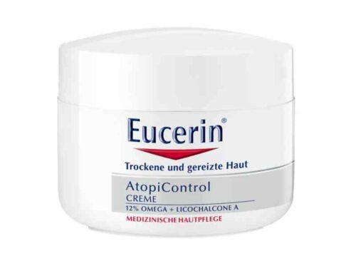 Eucerin AtopiControl для сухой и раздраженной кожи, косметика при атопическом дерматите