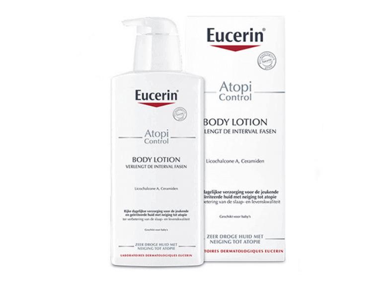 Атопический дерматит с Eucerin AtopiControl