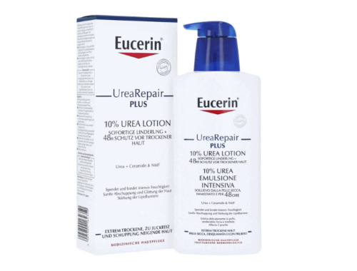 Eucerin UreaRepair PLUS для сухой кожи лица и тела