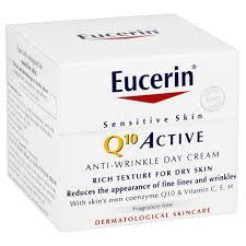 Косметика Eucerin - линия Q10 Active, уход за зрелой кожей, косметика против морщин