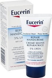 Косметика Eucerin - линия Urea, уход за сухой кожей, уход за кожей рук, мочевина в косметике