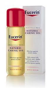 Косметика Eucerin - линия Sensitive Skin, уход за чувствительной кожей, уход за кожей тела, средства против растяжек