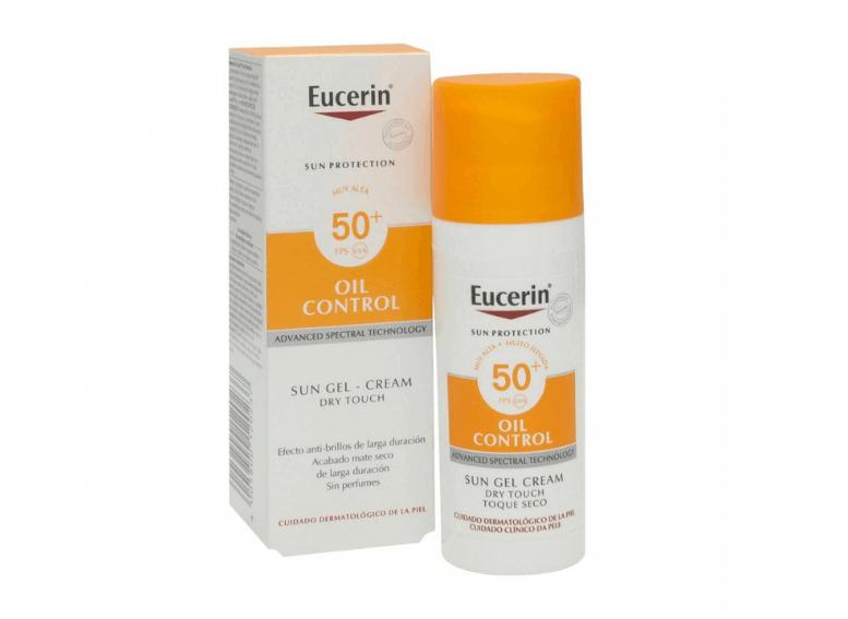 Eucerin Sun защита от солнца для жирной кожи