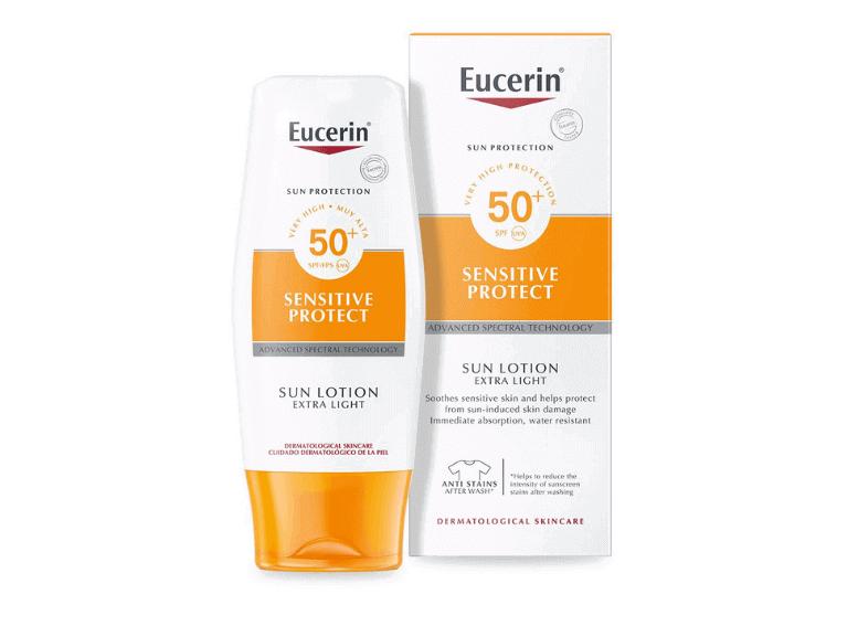 Солнцезащитные средства Eucerin Sun