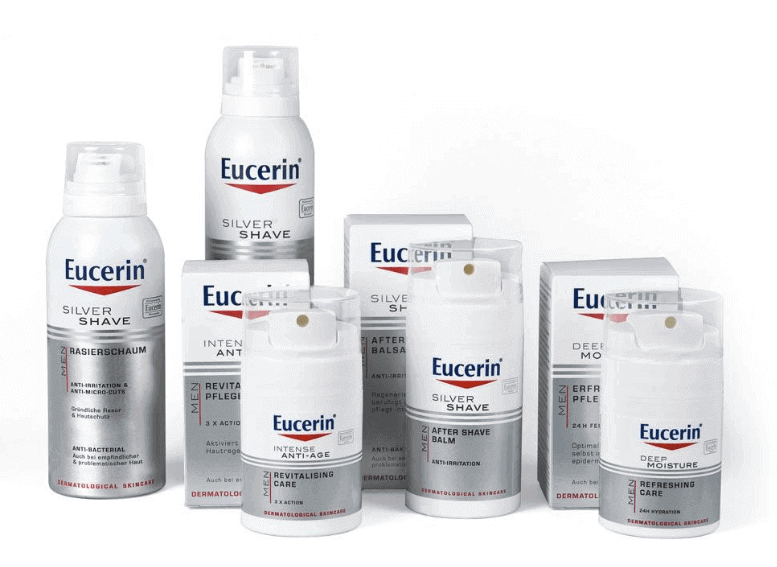 Средства для бритья Eucerin Men