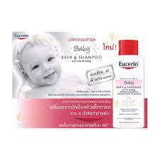 Косметика Eucerin - линия Sensitive Skin, уход за чувствительной кожей тела, уход за детской кожей