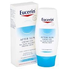 Косметика Eucerin - защита от солнца, уход за кожей после солнца, уход за аллергичной кожей