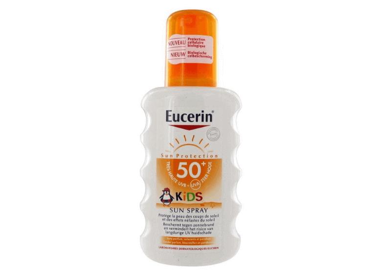Детские солнцезащитные средства Eucerin Sun
