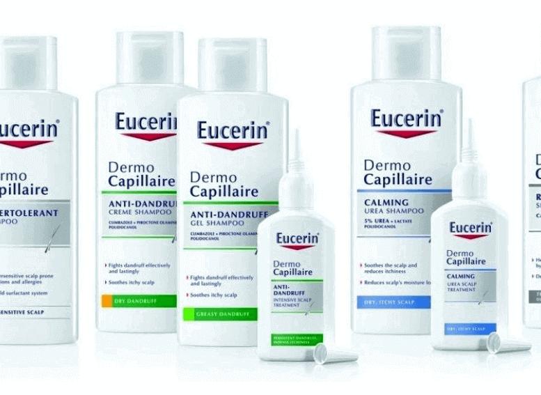 Eucerin для кожи головы, линия DermoCapillaire
