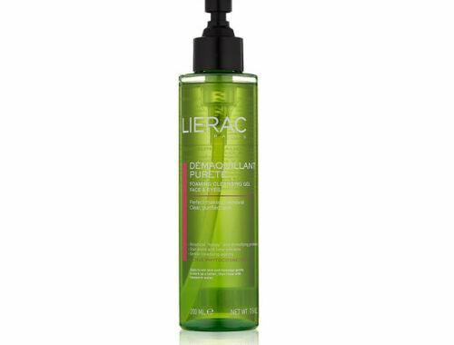 Lierac очищающие средства для разных типов кожи, очищающий гель