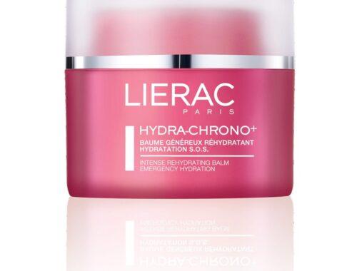 Lierac бальзам для лица и для губ Hydra-Chrono+ , уход за сухой кожей лица