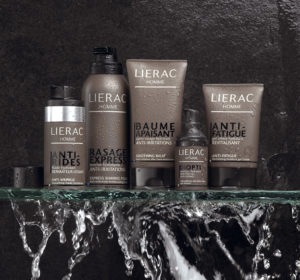 Косметика Lierac - линия для мужчин HOMME, средства до и после бритья, уход за мужской кожей