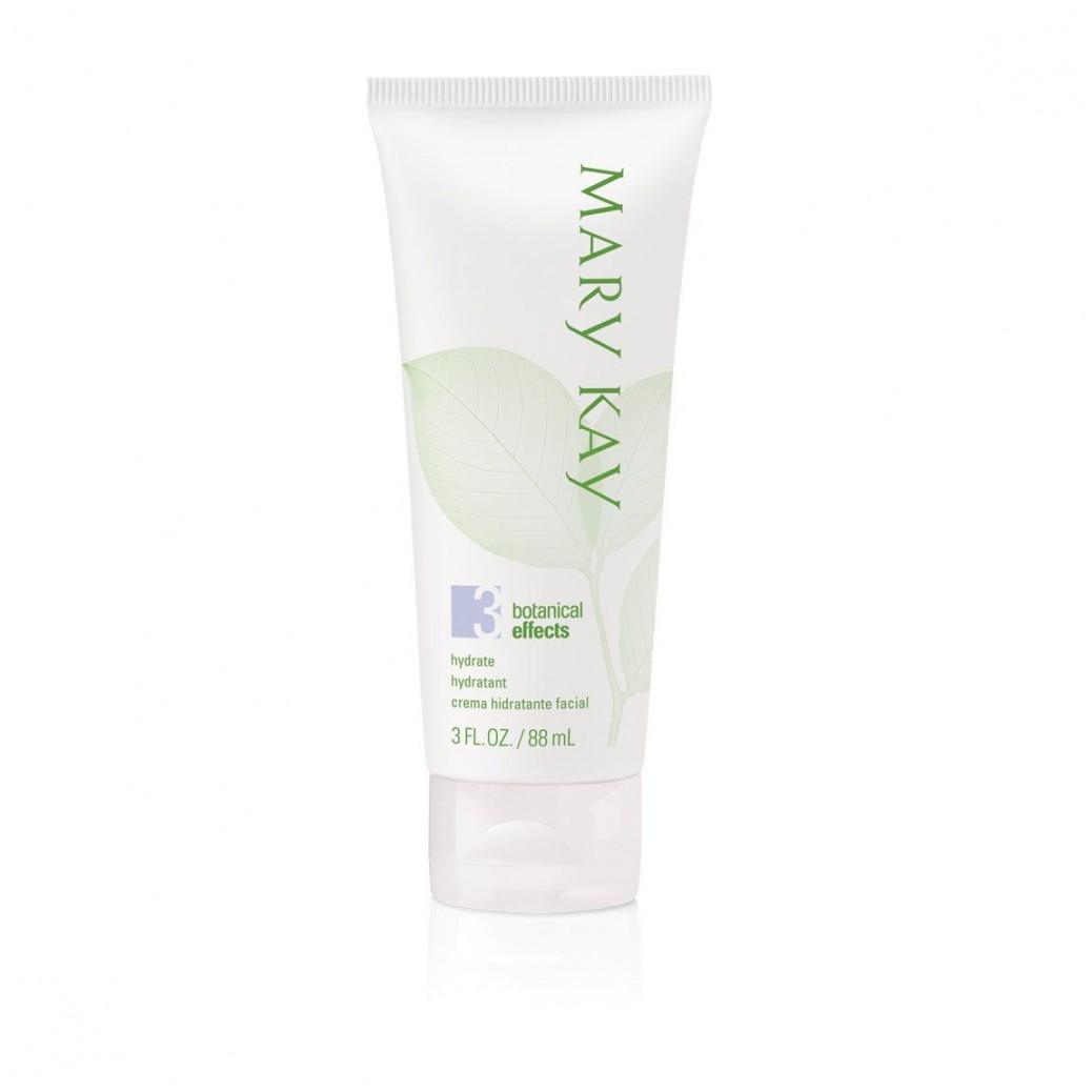 Увлажняющий крем для молодой кожи Mary Kay Botanical Effects, увлажняющий крем для жирной кожи, крем для молодой кожи