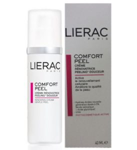 Косметика Lierac - линия COMFORT PEEL, пилинг, химический пилинг, обновление кожи