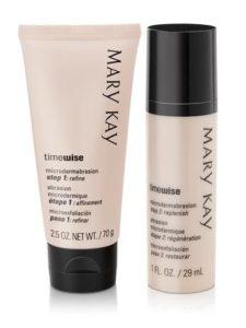 Косметика Mary Kay - пилинг TimeWise, дермабразия, обновление кожи, пилинг
