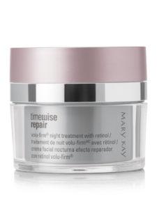 Косметика Mary Kay - линия TimeWise Repair Volu-Firm, косметика ant-age, крем от морщин, косметика против старения кожи, ночной крем