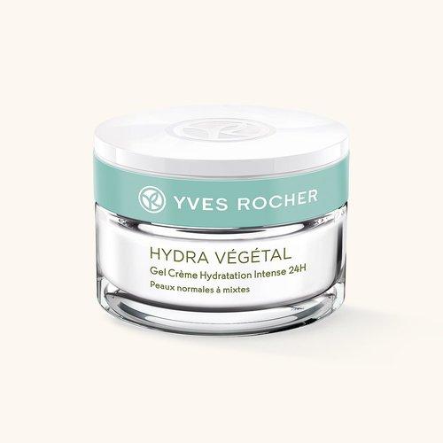 Косметика Yves Rocher увлажнение Hydra Vegetal, увлажняющий крем