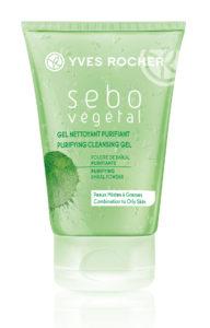 Косметика Yves Rocher - линия Sebo Vegetal. Очищающие средства для жирной кожи, уход за жирной кожей лица