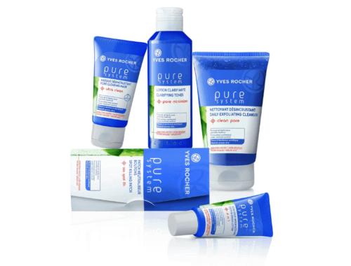 Косметика Yves Rocher линия для жирной кожи Pure System