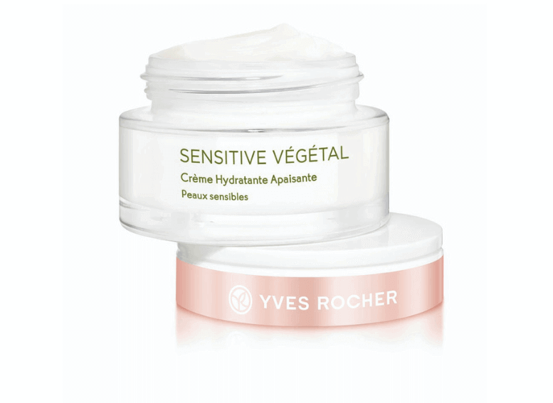 Косметика Yves Rocher увлажнение Sensitive Vegetal
