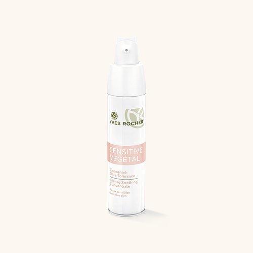 Косметика Yves Rocher тоник и концентрат Sensitive Vegetal, концентрат для чувствительной кожи