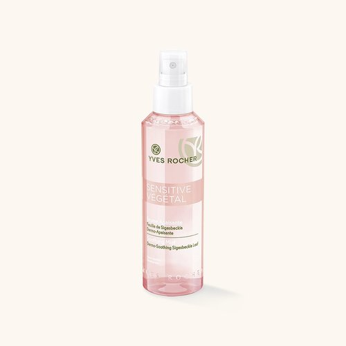 Косметика Yves Rocher - линия Sensitive Vegetal. Очищающие средства для чувствительной кожи.