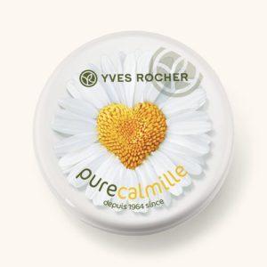 Косметика Yves Rocher - увлажнение Pure Calmille, увлажняющий крем, косметика для молодой кожи
