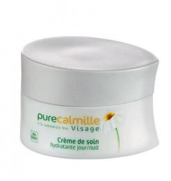 Косметика Yves Rocher - увлажнение Pure Calmille, косметика для молодой кожи, увлажняющий крем