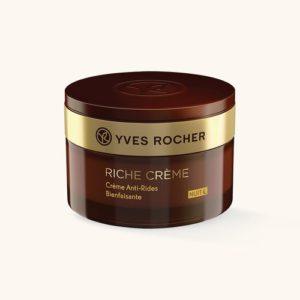 Riche Creme Yves Rocher - питание и регенерация кожи, уход за сухой кожей лица, ночной крем, уход за кожей лица зимой