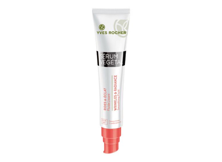Косметика Yves Rocher Serum Vegetal для сияния кожи лица и вокруг глаз