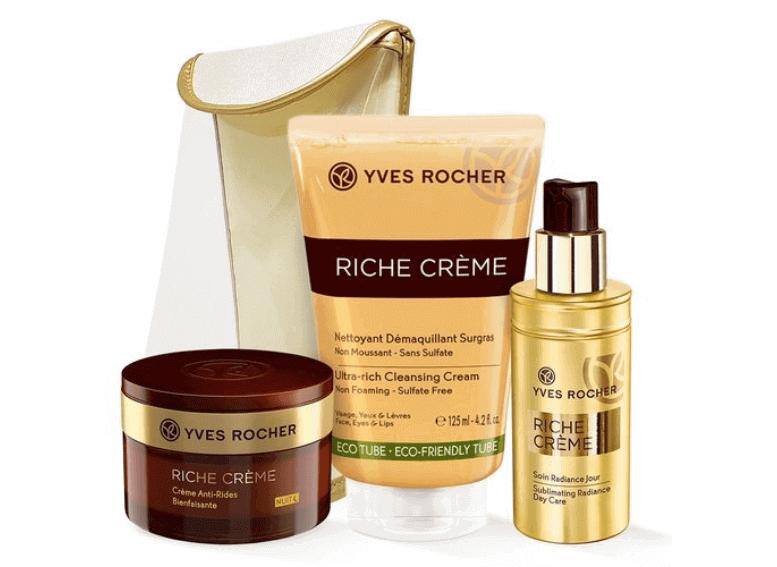 Косметика Yves Rocher питание и регенерация кожи лица